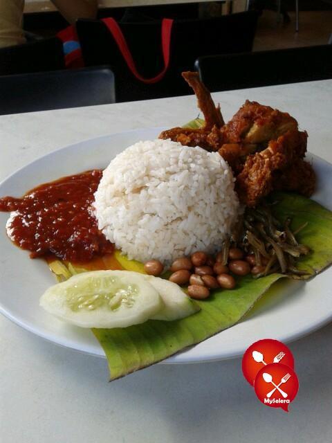 nasi lemak ayam restoran darussalam
