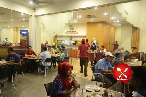 restoran saba from outside