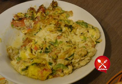 restoran saba mix omelete