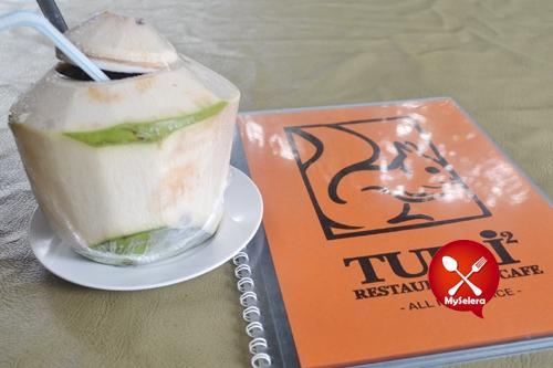 restoran tupai-tupai air kelapa