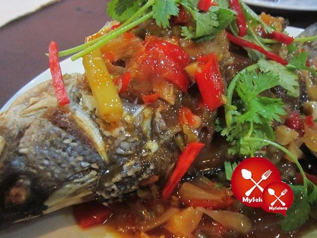 restoran wan thai ikan siakap