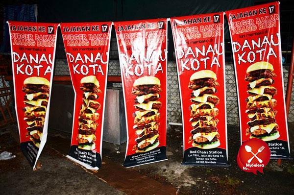 Burger-Bakar-Abang-Burn-Danau-Kota