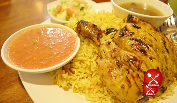 Nasi Arab Restoran Aroma Hijrah, TTDI Jaya Shah Alam