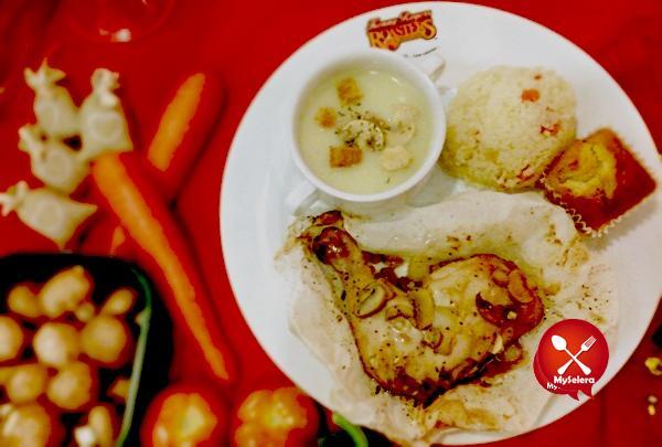 Hidangan lazat Teriyaki Chicken Kenny Rogers sempena Chinese New Year 1