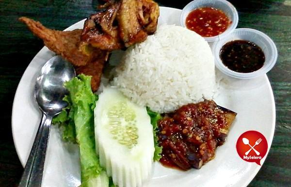 Ayam Penyet Bakar Wong Solo Ampang