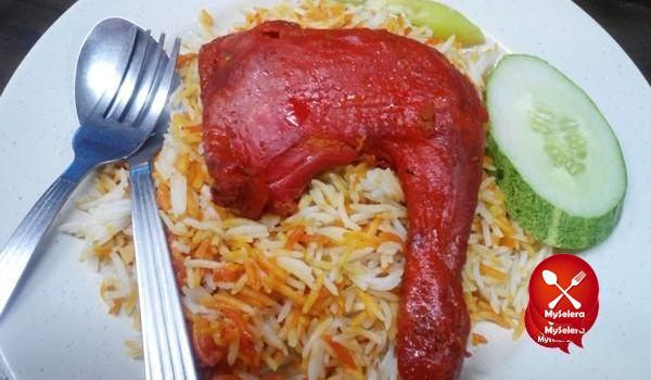 Nasi Mandi Restoran Nasi Arab Al Edrus Kuala Terengganu