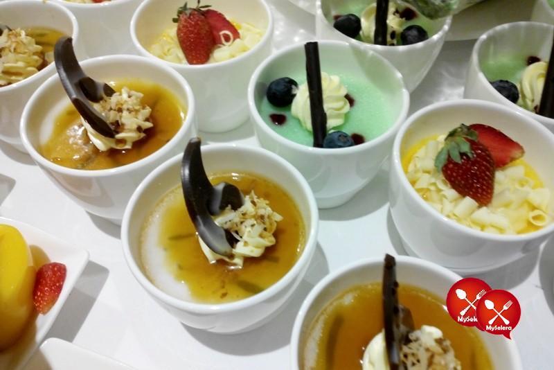 Dessert di Buffet Ramadhan Pacific Regency Hotel Suites Kuala Lumpur