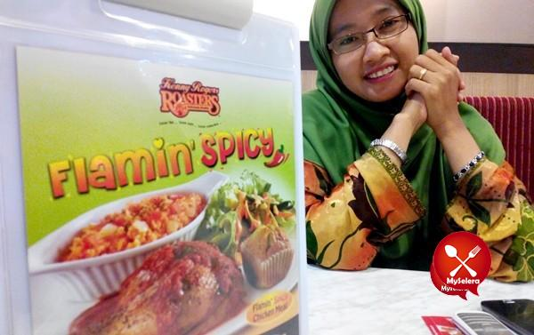 Food review Ramadhan promotion Flamin Spicy Kenny Rogers Roaster