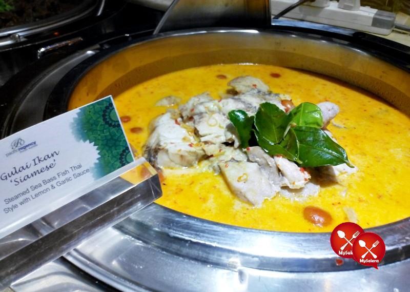 Gulai Ikan di Buffet Ramadhan Pacific Regency Hotel Suites Kuala Lumpur