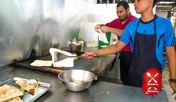Roti Canai Popular Kuala Lumpur di Lan Roti Canai-6