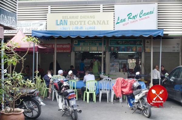 Roti Canai Popular Kuala Lumpur di Lan Roti Canai-8