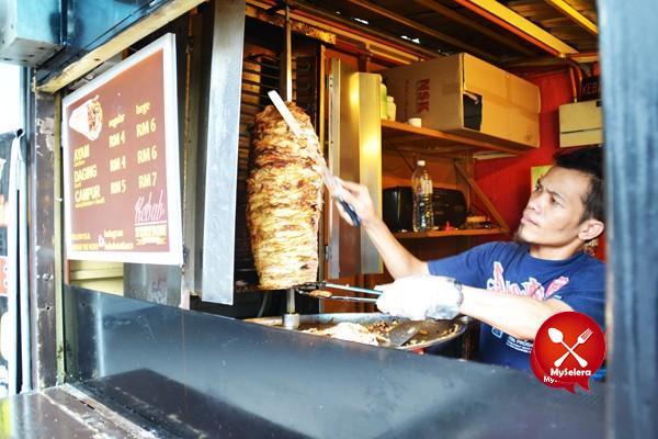Kebab Station Kebab Popular di UM Kuala Lumpur