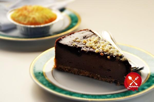 Nutella Cheese Cake, Hashtag CoffeeHouse, The Strand Garden Damansara