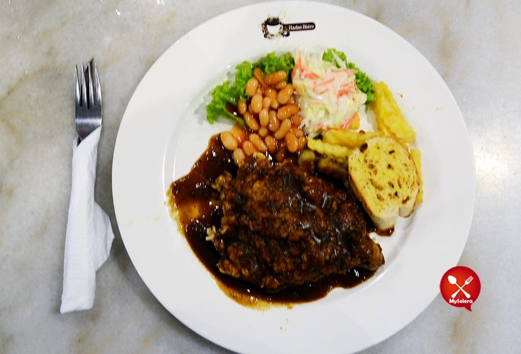 Fried Chicken Chop 2 Hazlan Bistro Kuala Terengganu