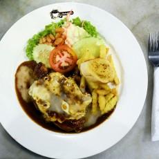 Grill Cheese Chicken 2 Hazlan Bistro Kuala Terengganu