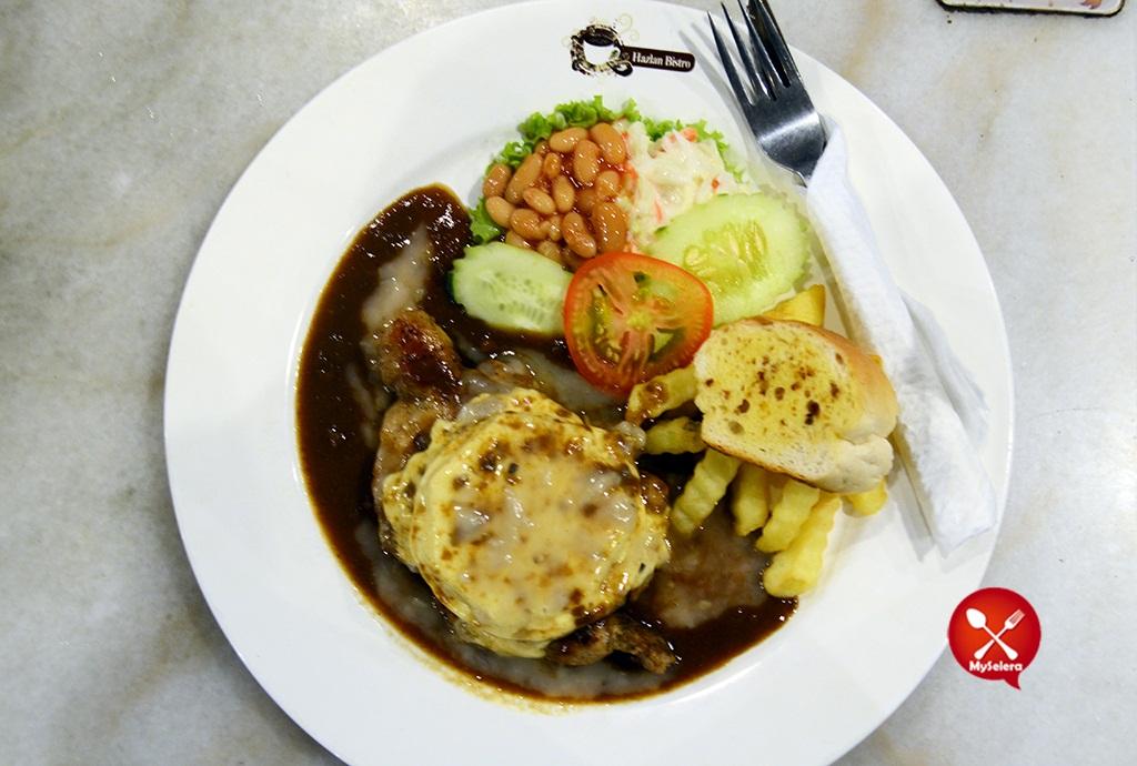 Grill Hawaii Chicken 2 Hazlan Bistro Kuala Terengganu