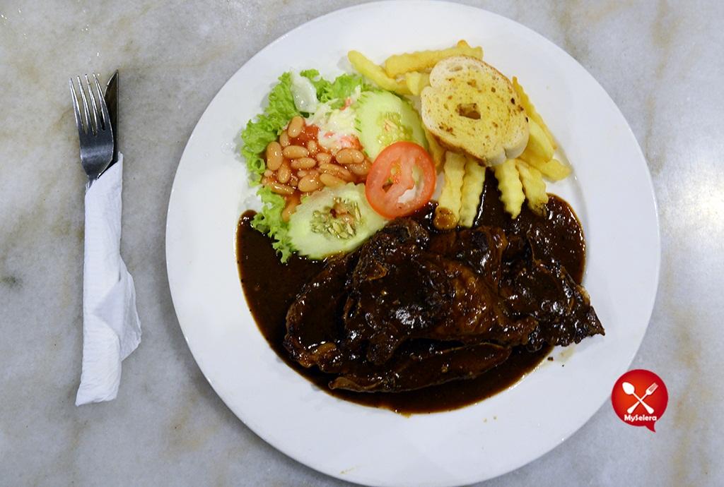 Grill Lamb Chop 2 Hazlan Bistro Kuala Terengganu