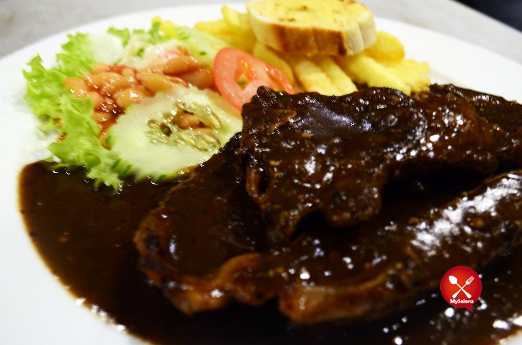 Grill Lamb Chop Hazlan Bistro Kuala Terengganu