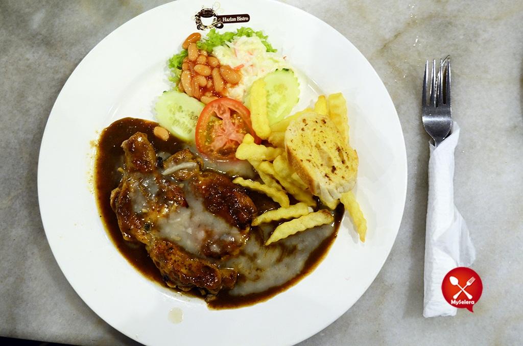 Grill Mushroom Chicken 2 Hazlan Bistro Kuala Terengganu