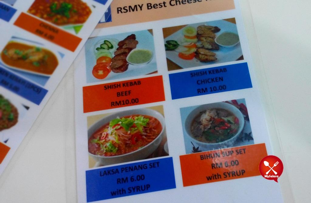 Harga Makanan 2 di RSMY Best Cheese Naan 1