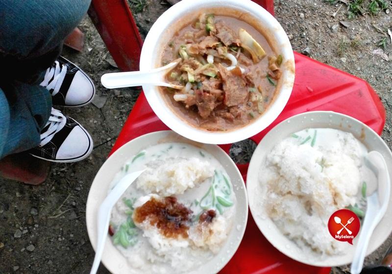 Minum petang di Cedol Seksyen 7, Shah Alam