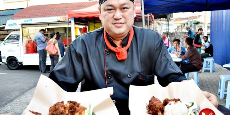 Nasi Lemak Kukus Goreng Chef Fauzey005