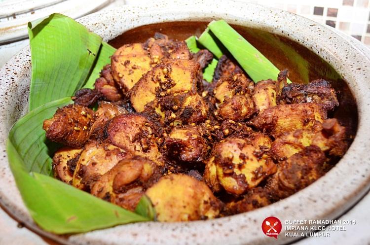 Sambal sotong Buffet Ramadhan 2015 Impiana KLCC Hotel & Spa -2