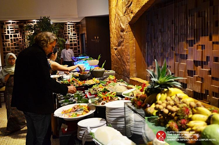 Buffet Ramadhan 2015 Sheraton Imperial Hotel Kuala Lumpur - Kerabu 2