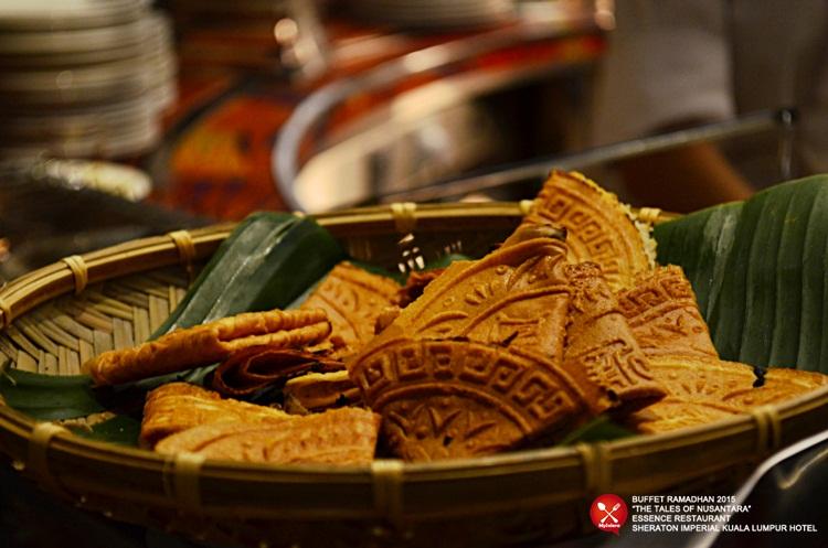 Buffet Ramadhan 2015 Sheraton Imperial Hotel Kuala Lumpur -Kuih kapit 1
