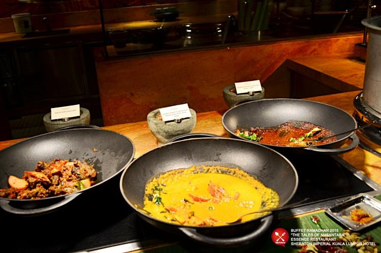Buffet Ramadhan 2015 Sheraton Imperial Hotel Kuala Lumpur Masakan kampung 1