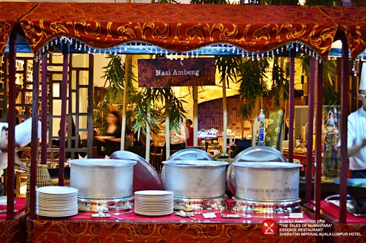 Buffet Ramadhan 2015 Sheraton Imperial Hotel Kuala Lumpur - Nasi AMbeng