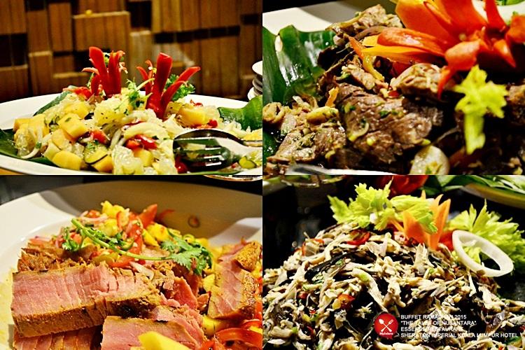 Buffet Ramadhan 2015 Sheraton Imperial Hotel Kuala Lumpur - Pelbagai Jenis Kerabu 1
