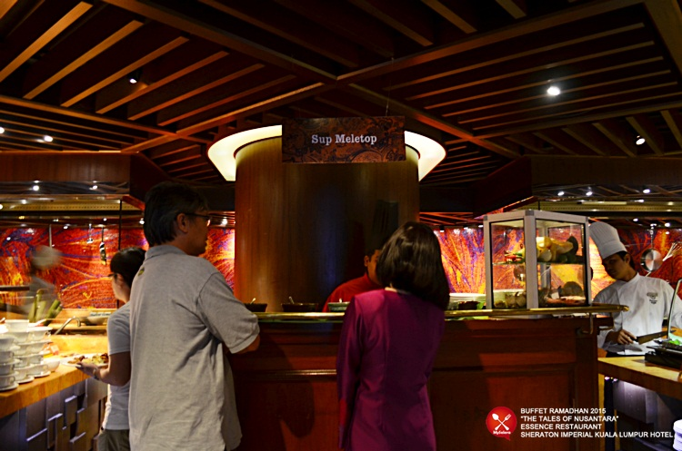 Buffet Ramadhan 2015 Sheraton Imperial Hotel Kuala Lumpur - Sup meletup 1