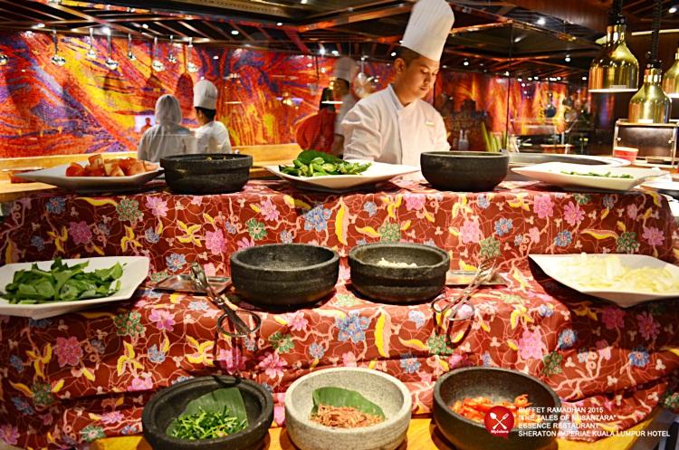 Buffet Ramadhan 2015 Sheraton Imperial Hotel Kuala Lumpur - Ulam ulaman 1