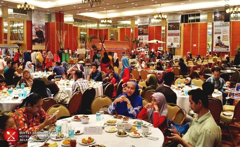 Berbuka puasa di Buffet Ramadhan 2015 - De Palma Hotel Shah Alam