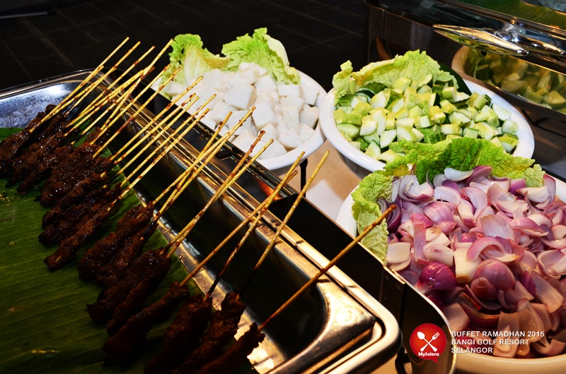 Sate Ayam dan Daging Buffet ramadhan Bangi Golf Resort - 018