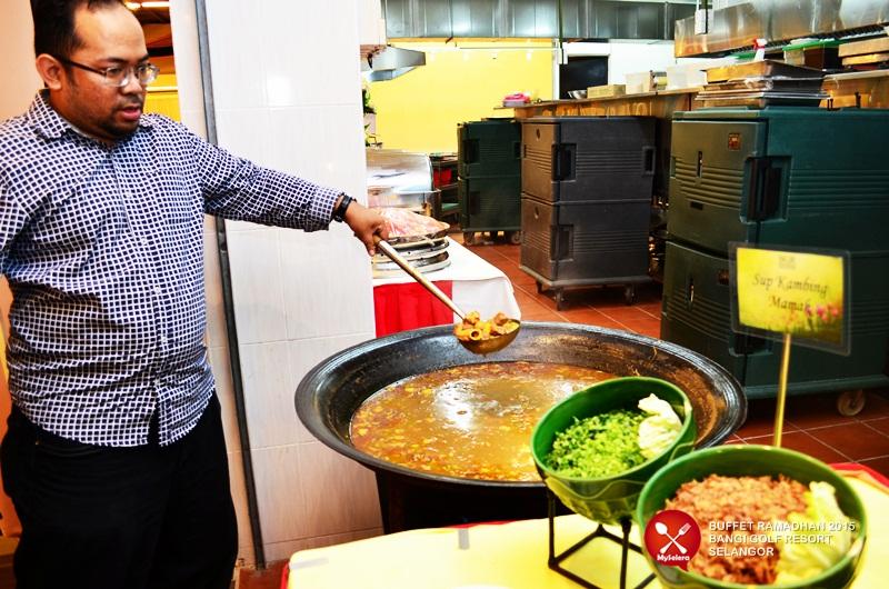 Sup kambing Mamak Buffet ramadhan Bangi Golf Resort - 020