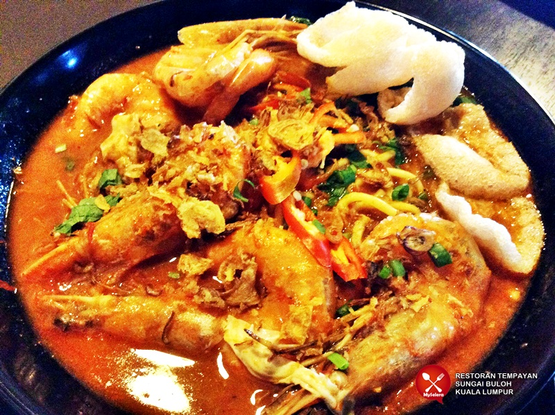 Mee Udang! Restoran Tempayan Sungai Buloh