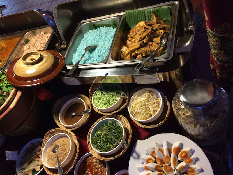 Nasi Kerabu @Kelantan Delights