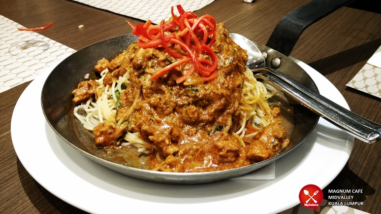 Spaghetti Rendang Magnum Cafe Kuala Lumpur - 006
