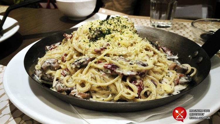 Spaghetti Carbonara Magnum Cafe Kuala Lumpur - 008