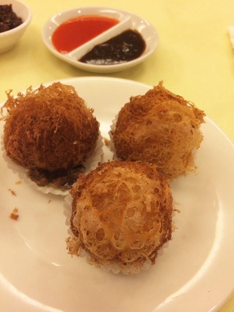 Deep Fried Chicken & Yam Dumpling