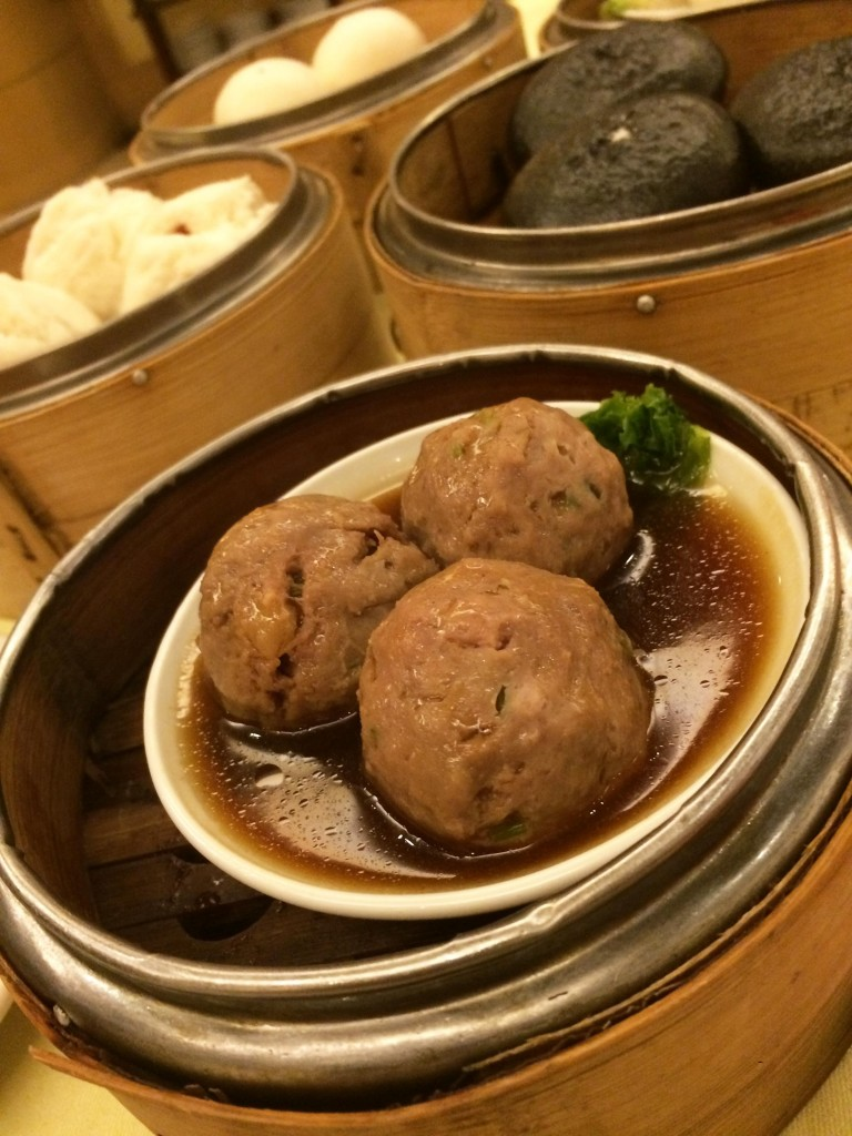 beef ball in pepper sauce