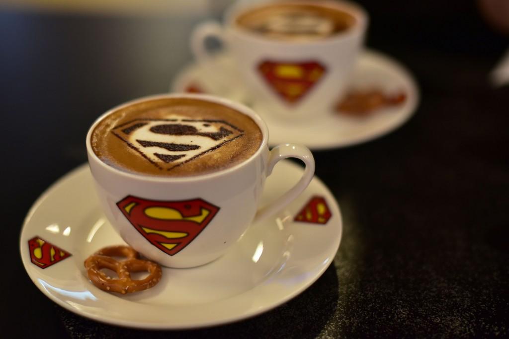 Dc Comics Superheroes Cafe